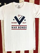WWII Victory Buy War Bonds US United States Homefront T Shirt Mens sz S - XL