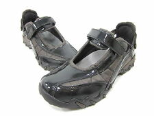 ALLROUNDER BY MEPHISTO, NIRO MARY JANE FLAT, WOMENS, BLACK PATENT, US 5.5 M, NEW