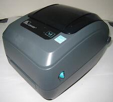 USED But Work Great Zebra GX430T Monochrome Desktop Thermal Label Printer 887