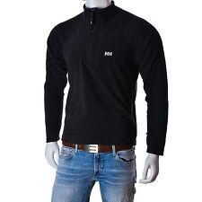 Helly Hansen Mens Fleece jumper black size M polartec