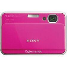 Sony Cyber-shot DSC-T2 8.1 MP Digital Camera - Pink