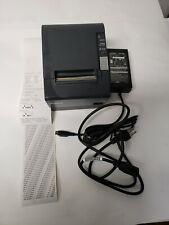 Epson M129h Tm T88iv Thermal Pos Receipt Printer Usb Printer W Power Supply