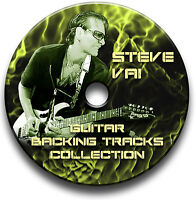 STEVE VAI STYLE MP3 HARD ROCK GUITAR BACKING JAM TRACKS CD LIBRARY