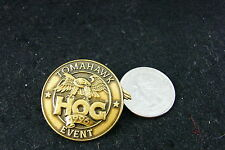 HARLEY DAVIDSON PIN HARLEY OWNERS GROUP TOMAHAWK EVENT 1996