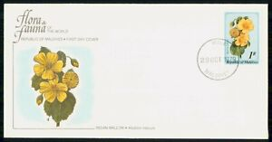 Mayfairstamps MALDIVES FDC 1979 COVER INDIAN MALLOW FLOWER wwk43447
