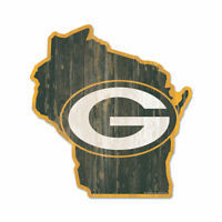 Green Bay Packers Holzschild NFL Football Bundesstaat Wisconsin