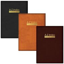 A5 Hardback Address Book Contact Name Telephone Number A-Z Record Home Office