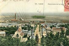 Carte LAON Panorama de la gare