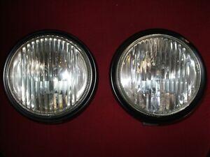 Porsche 914-4 & 914-6  NOS factory fog lights 914-631-134-11 NEW PAIR UNOBTANIUM