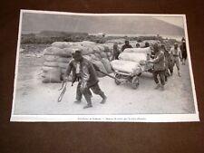 Valona o Vlora nel 1913 Sbarco dei viveri al porto Guerra in Albania
