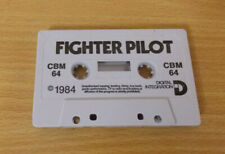 Fighter Pilot (Cassette Only) Commodore 64/128 C64 Game Free P&P UK