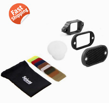 Selens Magnetic Honeycomb Grid Spot Filter Kit For Flash Speedlite Pro Diffuser