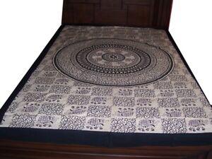 Wall Tapestry Hanging Sheet Bed Mandala Bohemian Throw Hippie Beds heet