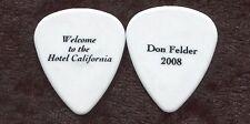 Don Felder 2008 California Book Tour Guitar Pick! Book promo Eagles #2