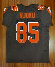 David Njoku Signed Autographed Jersey Cleveland Browns PSA DNA
