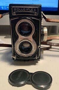 RolleiFlex 6x6 mit 75mm Tessar f3.5