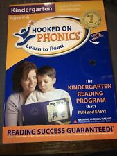 Hooked on Phonics Learn to Read Kindergarten Ages 4-6 Kit Letter Sounds Vowels