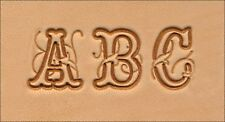 """Craftool 3/4"""" 19 mm Script Alphabet Set Tandy Leather 8139-00 Free Priority Ship"""