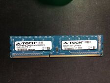 A-Tech 4gb ram DDR3 PC3-8500 DIMM/1066MHz 1Rx8 1.35v RPG 128