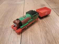 Thomas Trackmaster Chocolate Crunch Percy train (batt opp). New Type Revolution