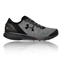 Under Armour Mens Charged Escape Running Shoe Black Grey Sports Breathable
