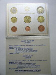 Vatikan KMS 1 Cent - 2 Euro ST im original Klappfolder 2004-2015 nach ihrer Wahl
