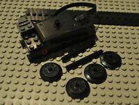 Lego 88002 Zugmotor 87574c01 Räder 55423c01 (inkl Gummis) Achsen 3706 kompatibel