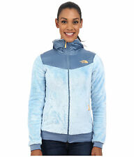 Nwt New Women's The North Face Oso Hooded Fleece Jacket Tofino Blue Large