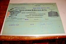 Antique Letterhead Alexander H Revell  Co Home Furnishings Chicago 1904 Ephemera