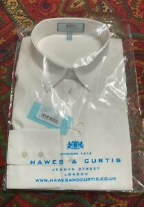 Hawes and Curtis White Fitted Blouse Size 12 US NWT($79 GBP)
