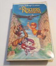 THE RESCUERS DOWN UNDER ~VHS, 1991 ~ A DISNEY CLASSIC ~ BLACK DIAMOND ~FREE SHIP