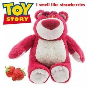 Disney Toy Story Large Lotso Lots-O'-Huggin' Bear Strawberry Scent Plush