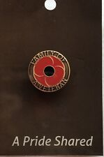 Family of a Veteran Poppy Lapel Pin *remembrance Day * ANZAC 25mm