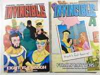 US IMAGE  Kirkman INVINCIBLE Vol.1 + Vol.2  ( Paperbacks, 1.Auflage )