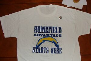 San Diego Chargers HOME NFL T Shirt White California Football XL Winslow