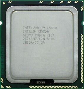 1x SLBV8 - INTEL XEON L5640 2.26GHZ 5.86GT/S 12MB