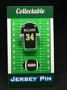 New Orleans Saints Ricky Williams jersey lapel pin-Classic team Collectable