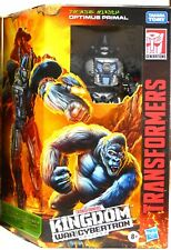 Transformers Kingdom Optimus Primal WFC-K8 Voyager Figure Series New