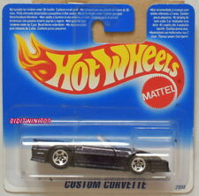 Hot Wheels 1994 Personalizzato Corvette Piccolo Scheda W+