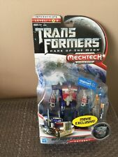 TRANSFORMERS Dark of the Moon OPTIMUS PRIME Mechtech Movie Exclusive - NEW !