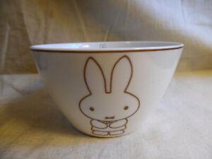 Bowl Ceral Ice Cream Miffy Rabbit