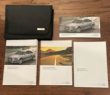 New Listing2014 Audi A4/S4 Owners Manual Set With Case