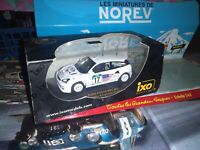 IXO MODELS FORD FOCUS WRC SEP 2001 NEW ZEALAND RALLYE 1:43 NEUF EN BOITE