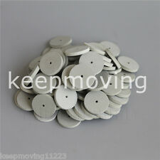 Toboom Dental Polishing Wheel Dremel Rotary Tool Jewelry Silicon Rubber White