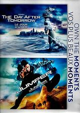 NEW DOUBLE FEATURE  DVD // THE DAY AFTER TOMORROW + JUMPER