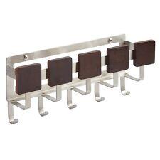 InterDesign Steel Mail Key Rack Letter Holder Wall Mount Hook Hanger Organizer