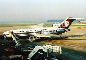 DAN AIR - Boeing 727 G-BAJW -  6x4 PRINT