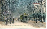 CP 06 Alpes-Maritimes - Nice - Avenue de la Gare - Tramway