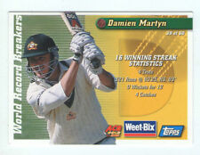 Topps Australia National Cricket Trading Cards