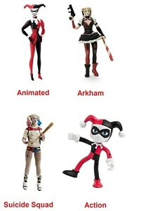 Harley Quinn bendable action figure
